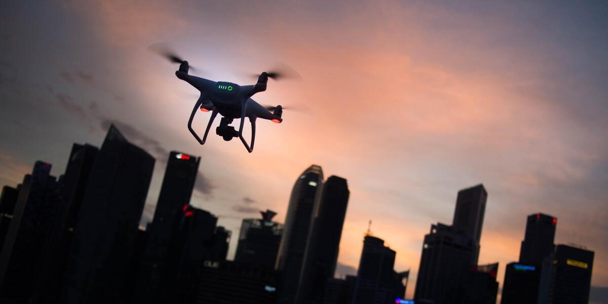 Más de mil drones crearon un código QR gigante para descargar un videojuego