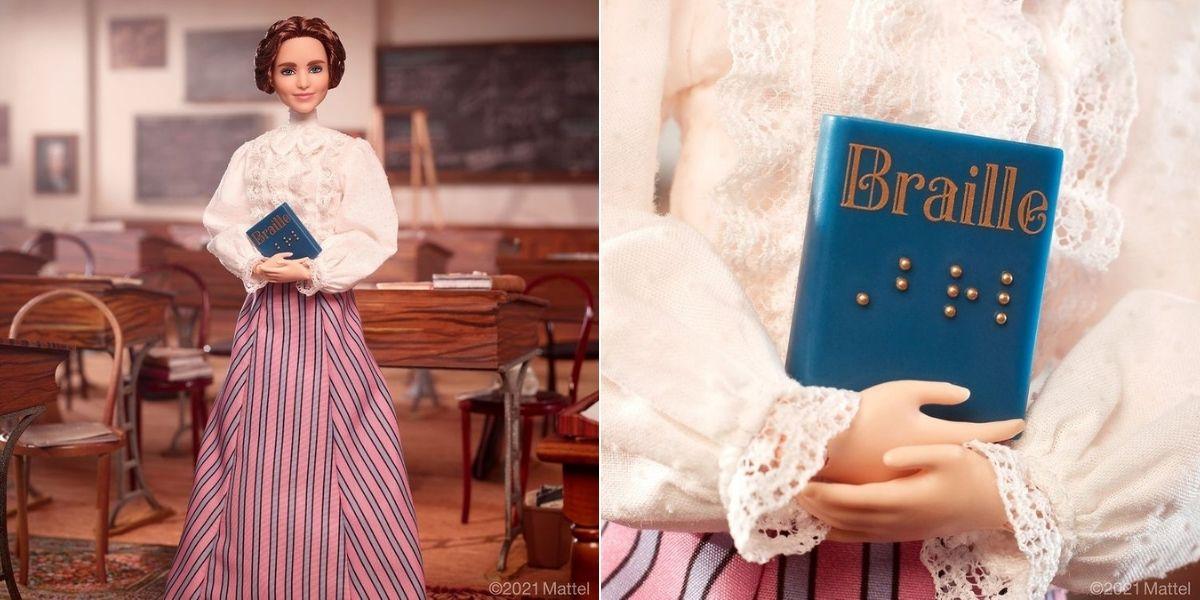 Barbie rinde homenaje a Helen Keller en su colección 'Mujeres que inspiran'