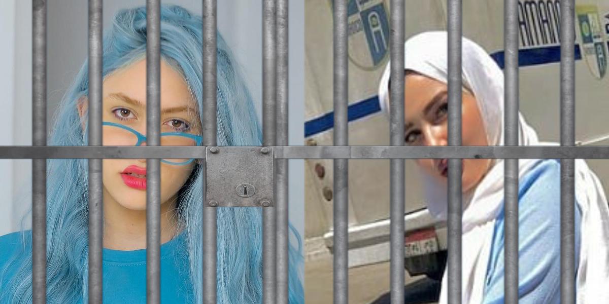 Egipto condena a dos populares 'tiktokers' a 6 y 10 años de cárcel