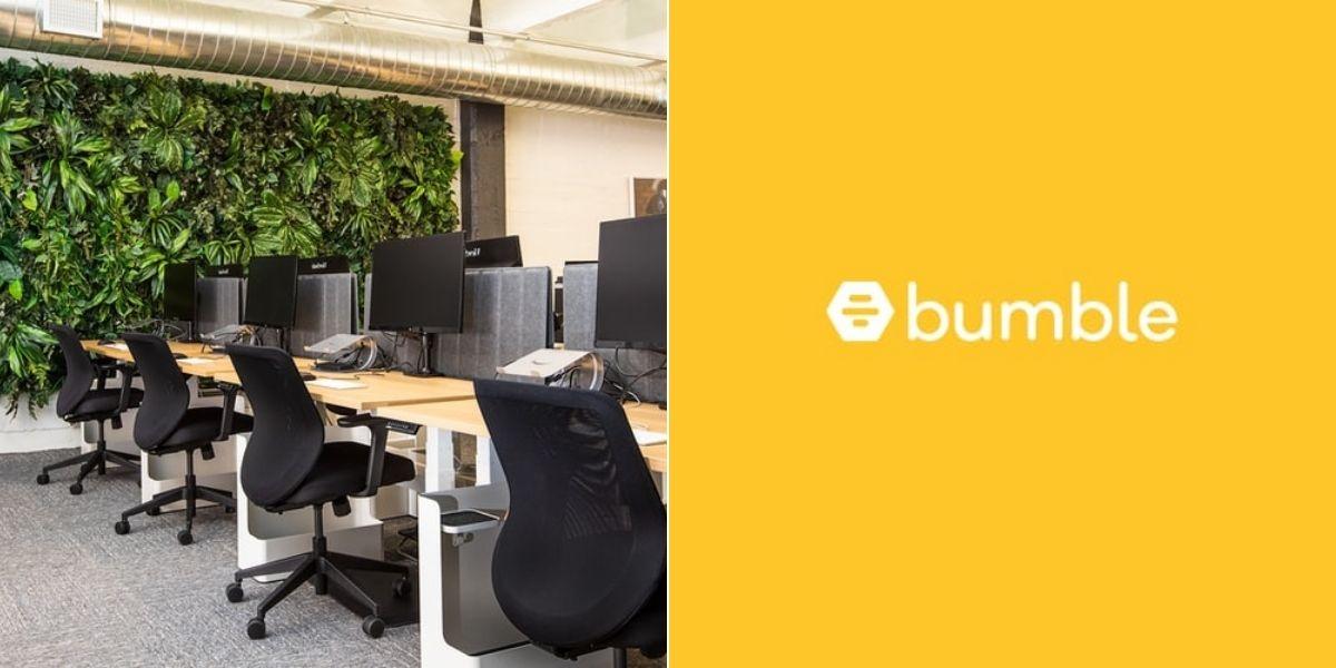 La app Bumble cierra sus oficinas durante una semana para aliviar el estrés de sus empleados
