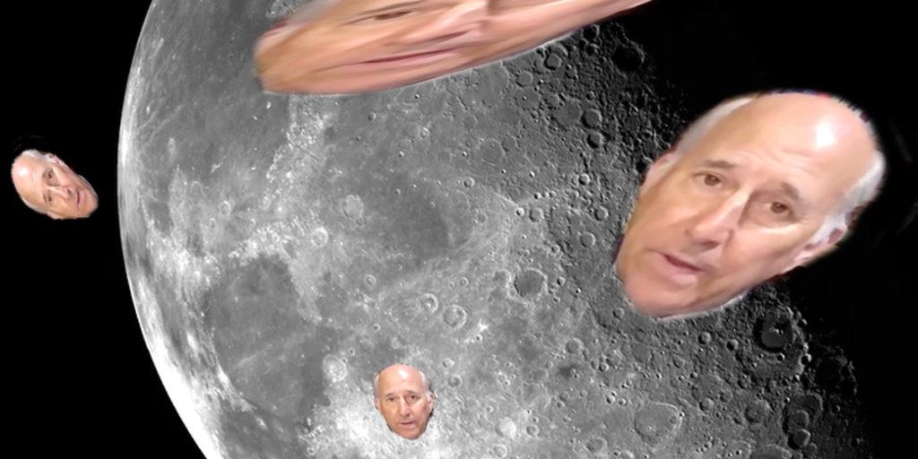 Gohmert órbita Luna