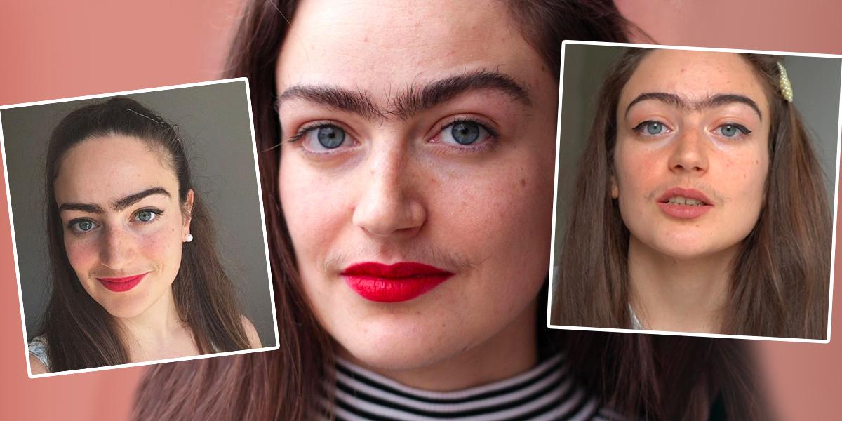 Eldina, la joven danesa que no se depila para luchar contra los estereotipos femeninos
