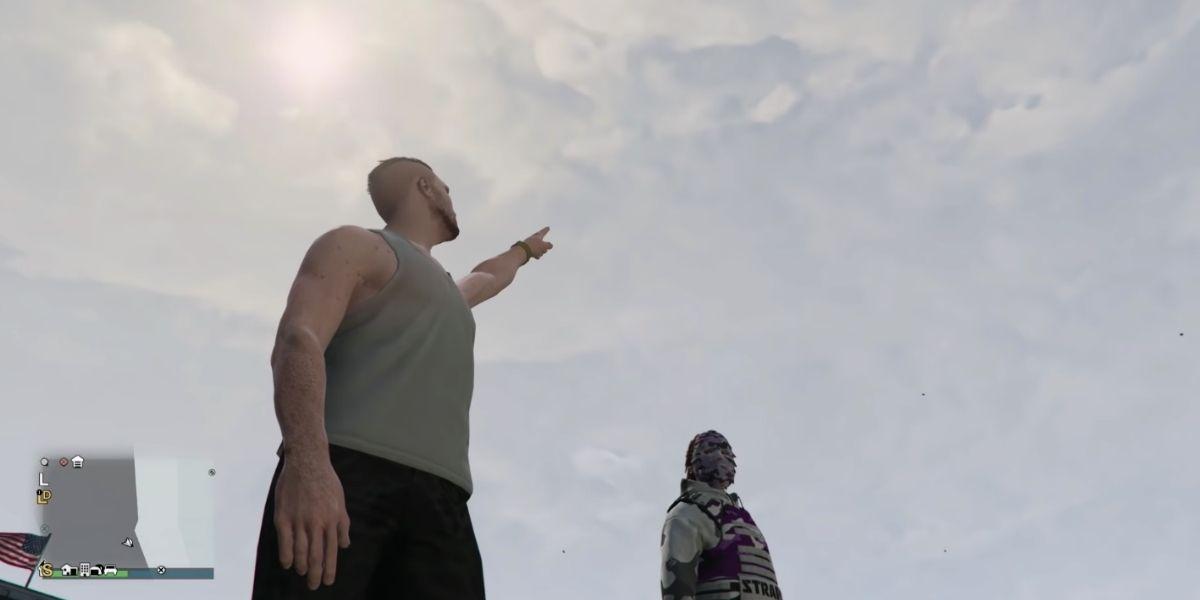 Un gamer hace monólogos de Hamlet en el mundo distópico de GTA Online