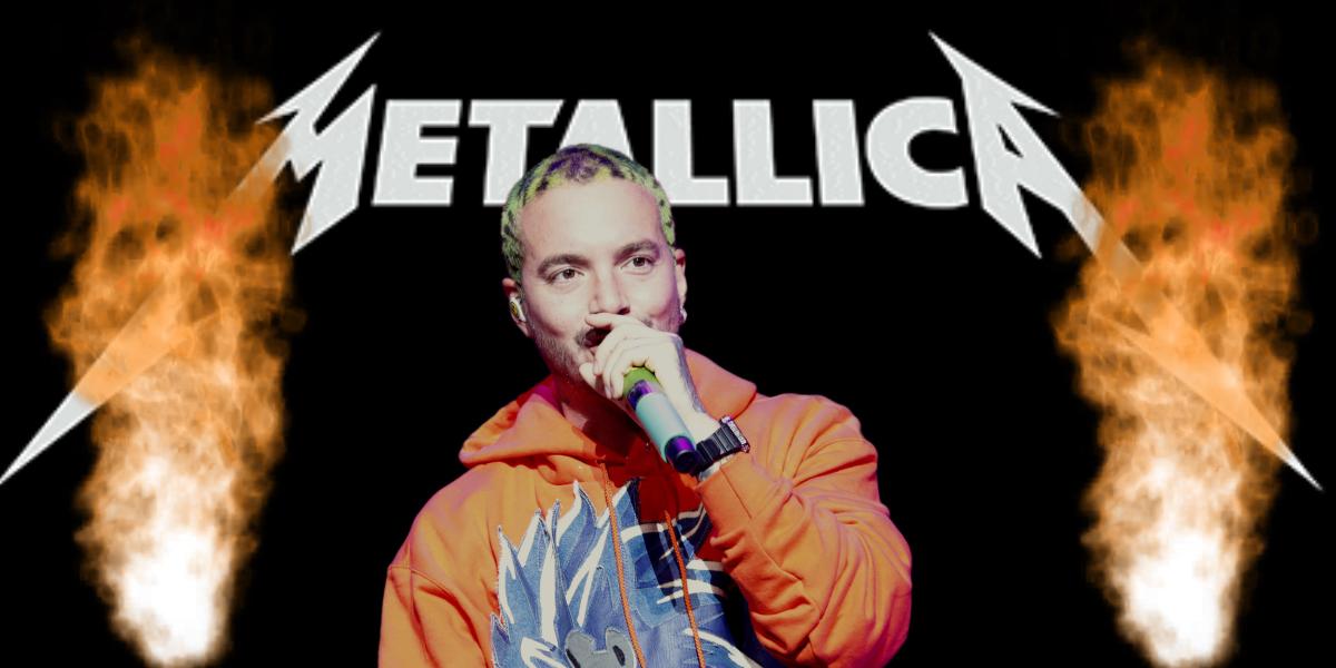 Así suena la esperada colaboración entre J Balvin y Metallica