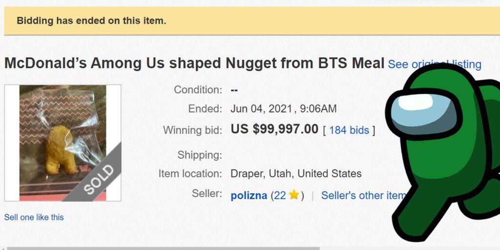 Precio del artículo en eBay