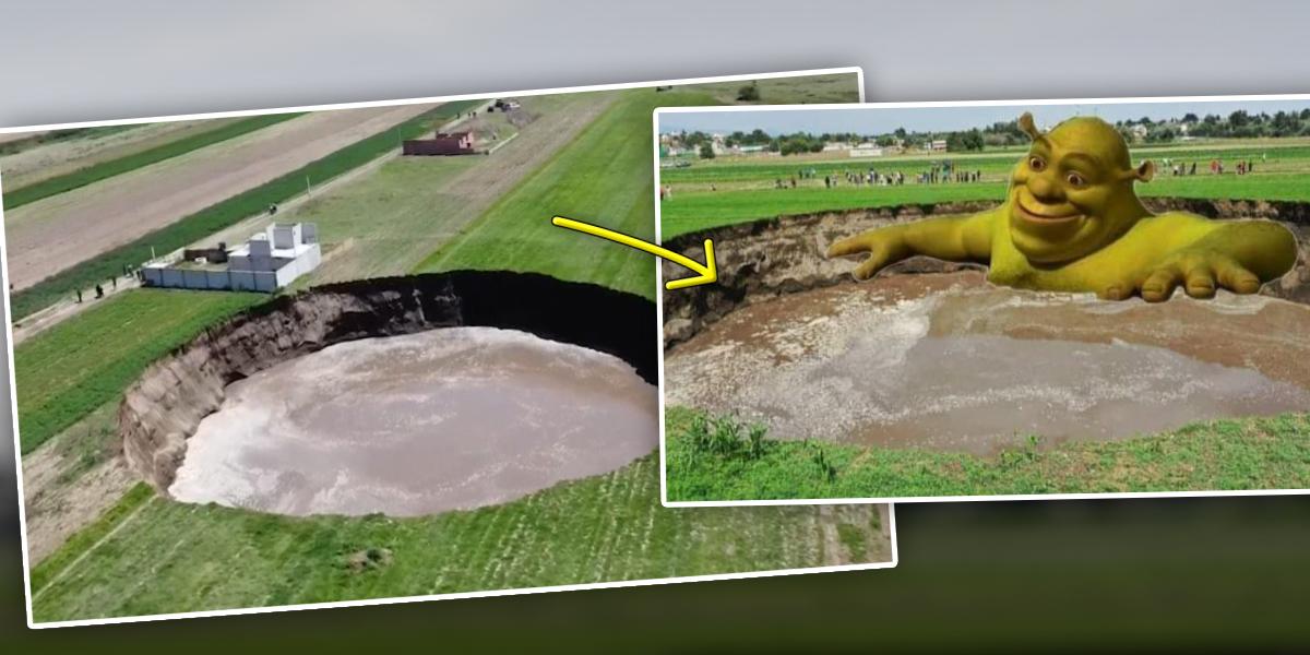 ¿Por qué se abrió un hoyo de 80 metros de diámetro en México?