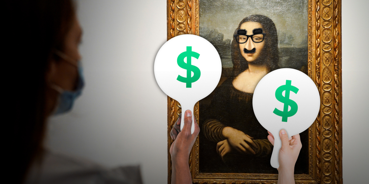 Una Mona Lisa Falsa fue subastada en París por una millonaria suma