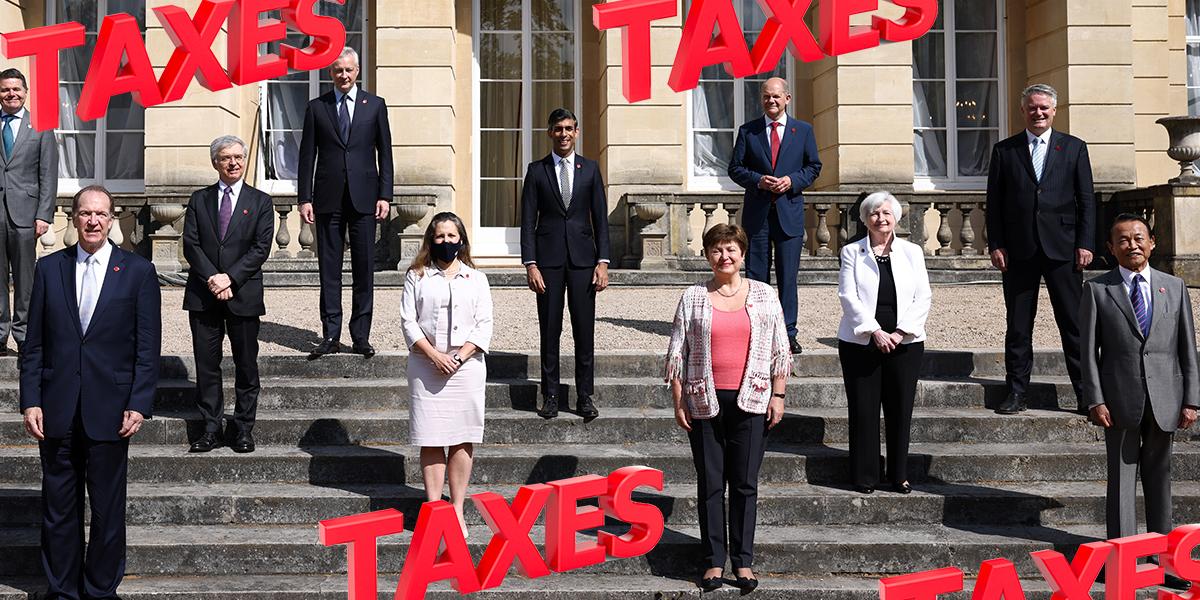 El G7 respalda la creación de un 'impuesto de sociedades mínimo global' en un acuerdo histórico