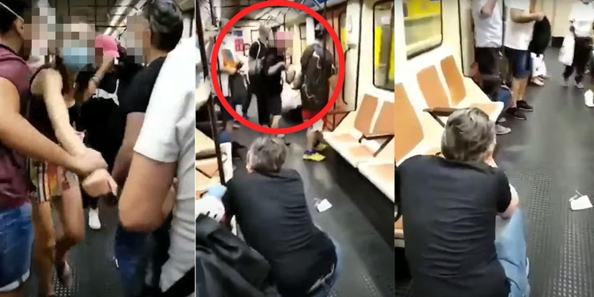 Pierde la visión de un ojo por pedir a un pasajero que use la mascarilla en el Metro de Madrid