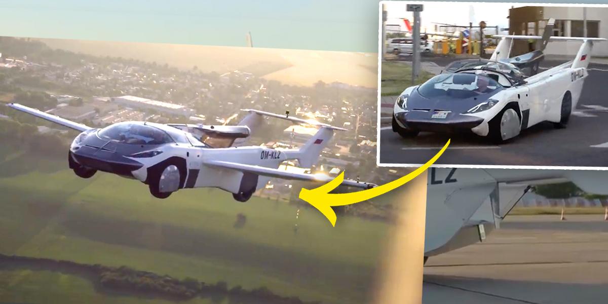 Este 'coche volador' acaba de completar su primer vuelo entre ciudades. ¿Tiene futuro el 'AirCar'?