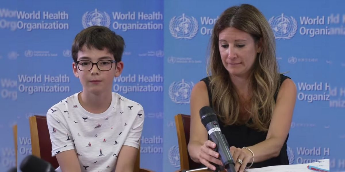 La pregunta de un niño sobre la pandemia hizo llorar a una líder de la OMS