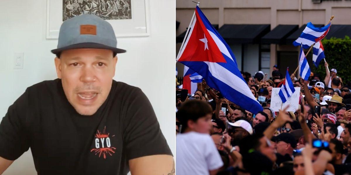 Del embargo al hartazgo de pueblo: Residente habla sobre las protestas en Cuba