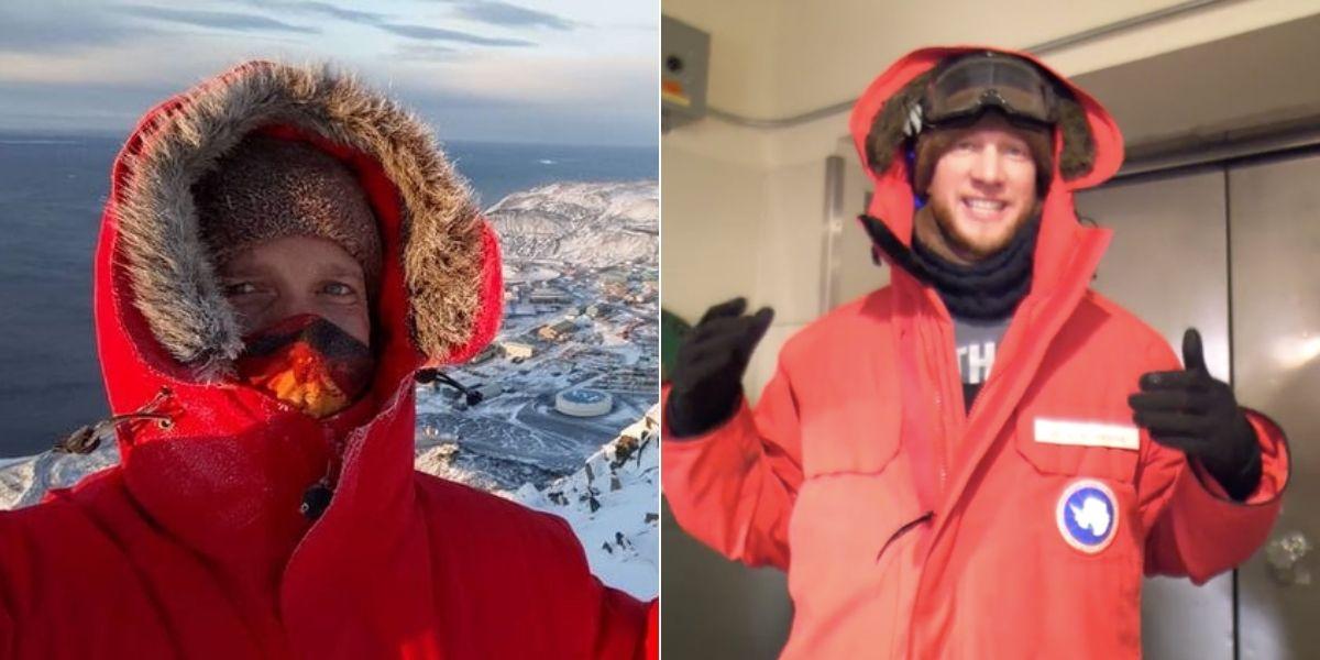 ¿Cómo es vivir en el Polo Sur? Este hombre ha estado varios meses en la Antártida y ha documentado toda su estadía