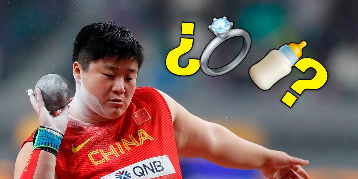 China explota de indignación por una entrevista 'sexista' a la medallista olímpica Gong Lijiao