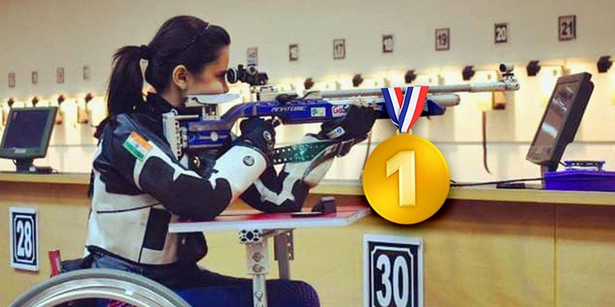 Ella es Avani Lekhara, la primera mujer india en ganar una medalla de oro en los Juegos Paralímpicos