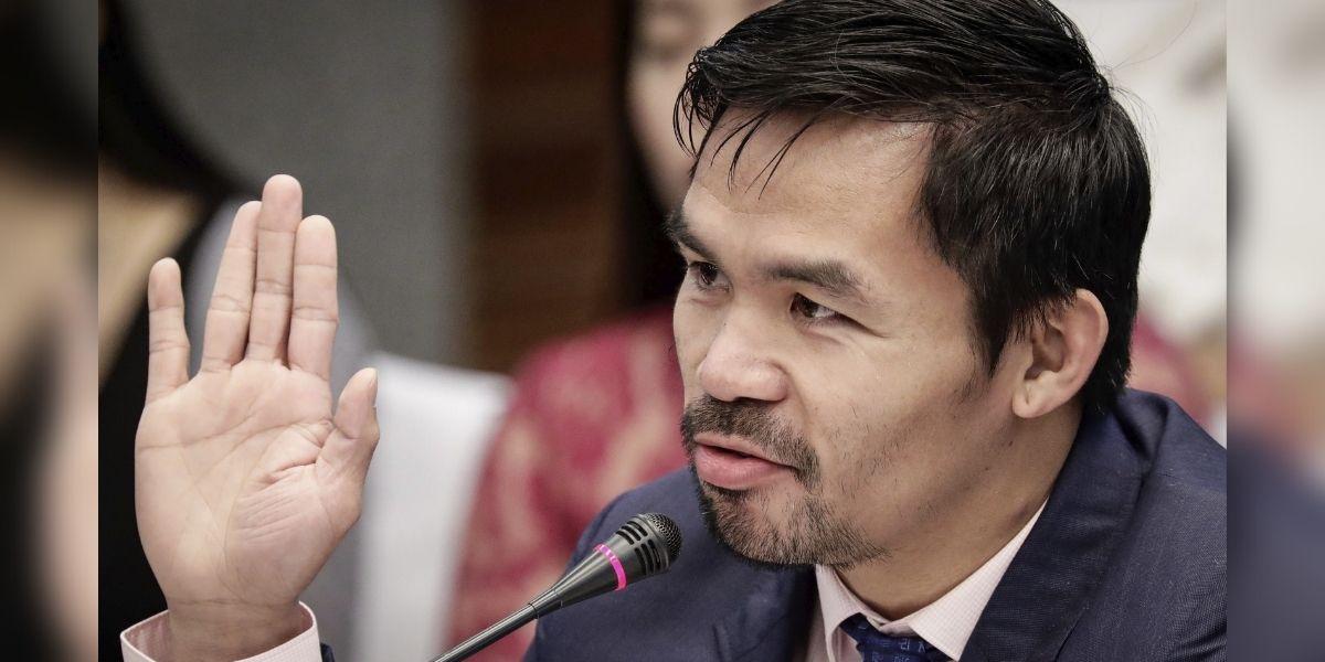 El boxeador Manny Pacquiao quiere ser presidente de Filipinas y anunció su candidatura