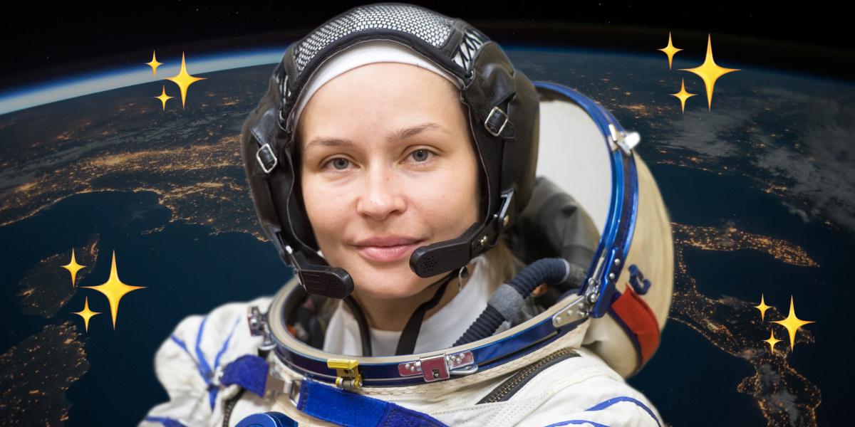 Esta actriz rusa concluyó su preparación para 'El reto', la primera película que será filmada en el espacio