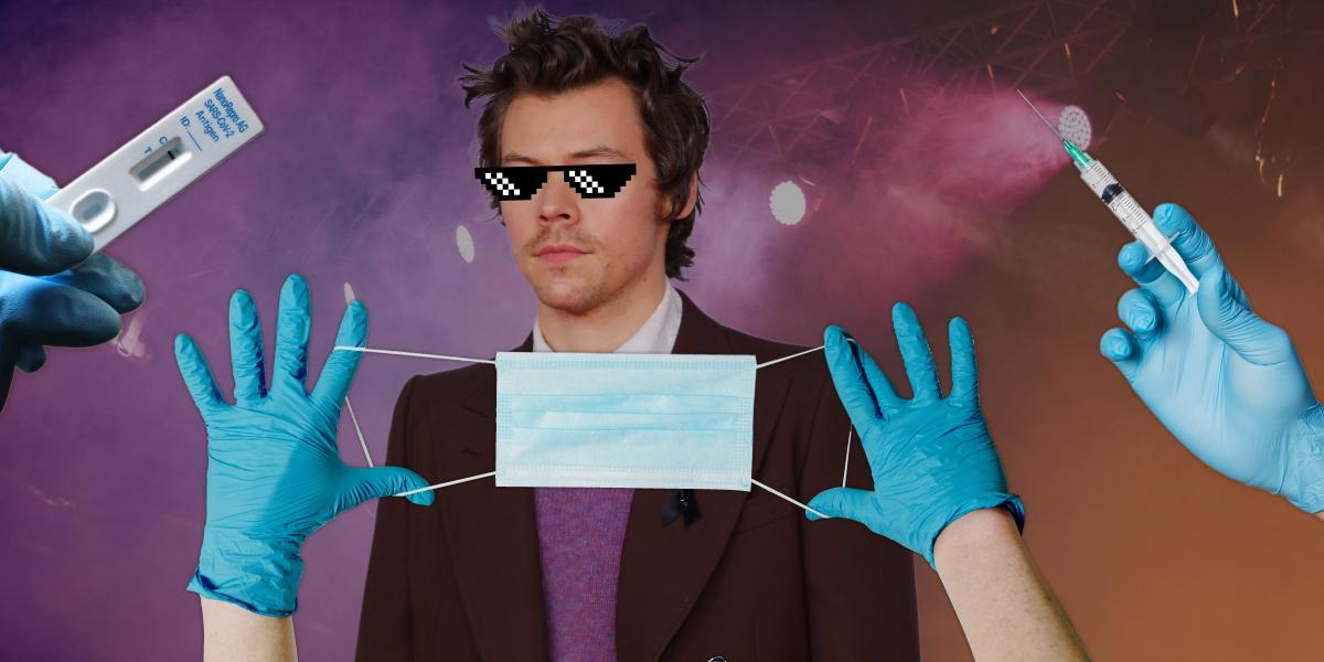 Harry Styles pedirá a sus fans certificado de vacunación, prueba negativa de covid y uso de mascarilla para sus shows