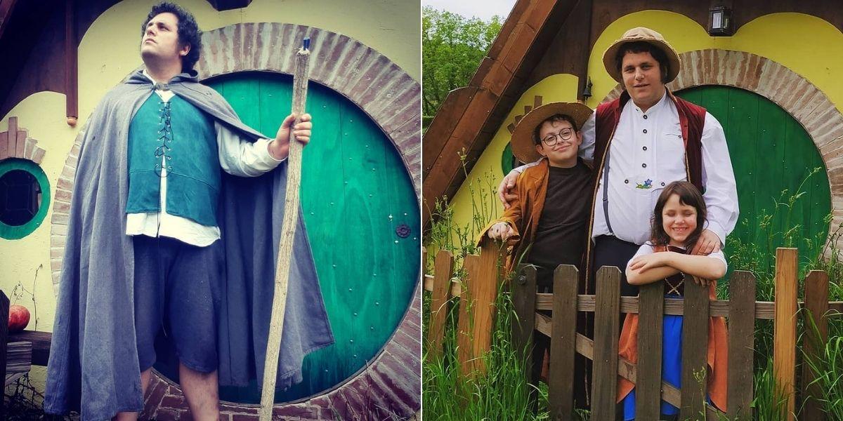 Nicolas construyó una versión de la 'Comarca' del 'Señor de los Anillos' y ha vivido como 'hobbit' por 3 años