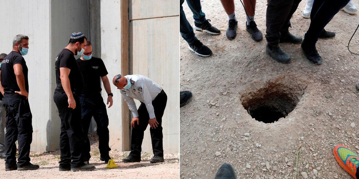 Como 'El Chapo' pero en Israel: 6 presos cavaron un túnel para fugarse de una cárcel de alta seguridad