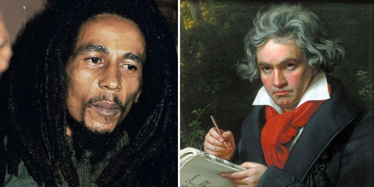 «Sonrían, la comedia terminó»: las últimas palabras de Beethoven, Bob Marley y otras figuras históricas