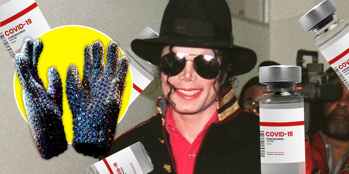 Un político corrupto compró los guantes de Michael Jackson, lo arrestaron y ahora están a la venta para comprar vacunas