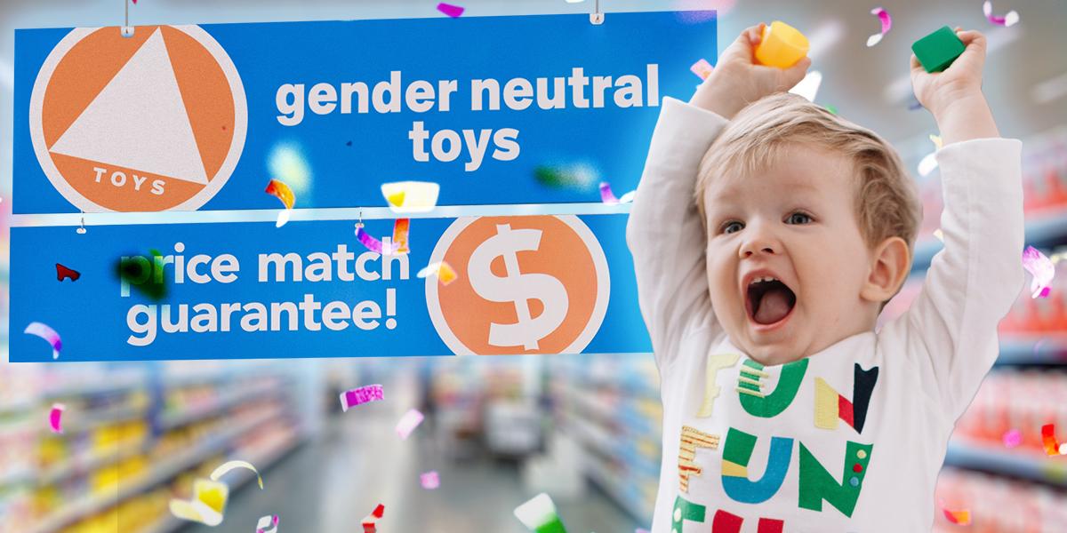 Las jugueterías en California deberán tener, por ley, una sección de género neutro